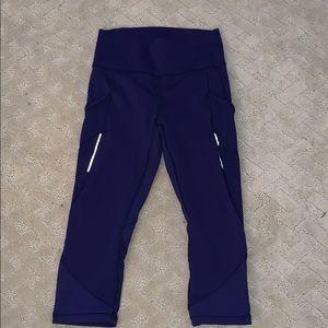 lululemon croppeed yoga pants